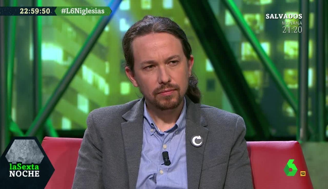 Pablo Iglesias en laSexta Noche