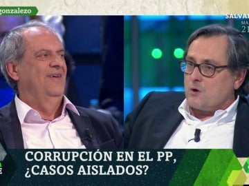 Javier Aroca y Francisco Marhuenda