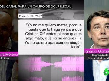 Conversación de Ignacio González
