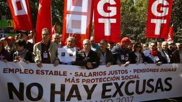 Los líderes de CCOO y UGT, Ignacio Fernandez Toxo y Pepe Álvarez