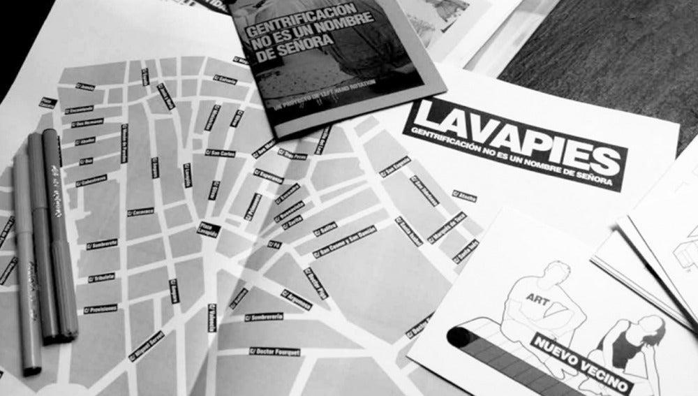 Lavapiés sufre la turisfificación del barrio