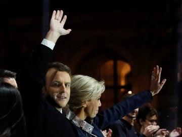 El presidente electo de Francia, Emmanuel Macron