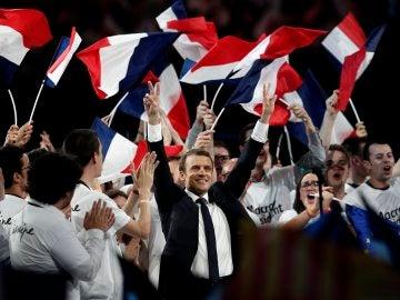 Emmanuel Macron, candidato de En Marche a las elecciones presidenciales