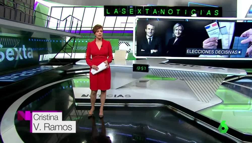 Cristina Villanueva firma con su segundo apellido en el Día de la Madre