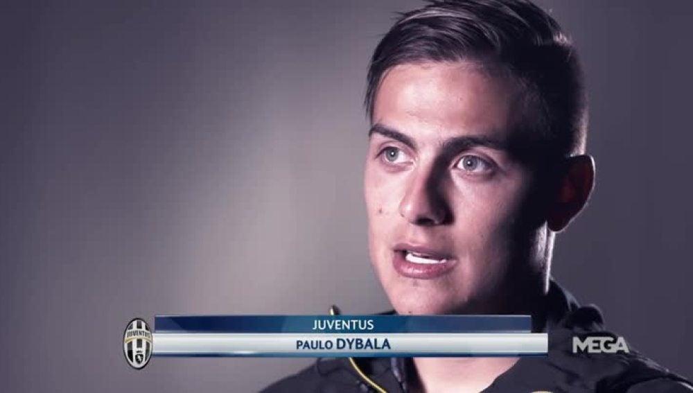 Paulo Dybala, delantero de la Juventus