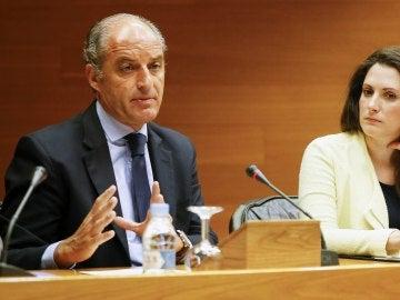 El expresidente de la Generalitat Francisco Camps comparece en la comisión de investigación