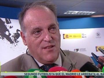 Frame 50.066881 de: Javier Tebas advierte al Barça.