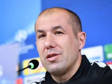 El técnico del Mónaco, Leorado Jardim