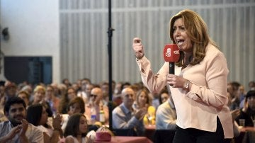 Susana Díaz, candidata a la Secretaría General del PSOE