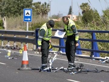 Una conductora ebria y drogada arrolló a 6 ciclistas y mató a dos de ellos en Oliva (Valencia)
