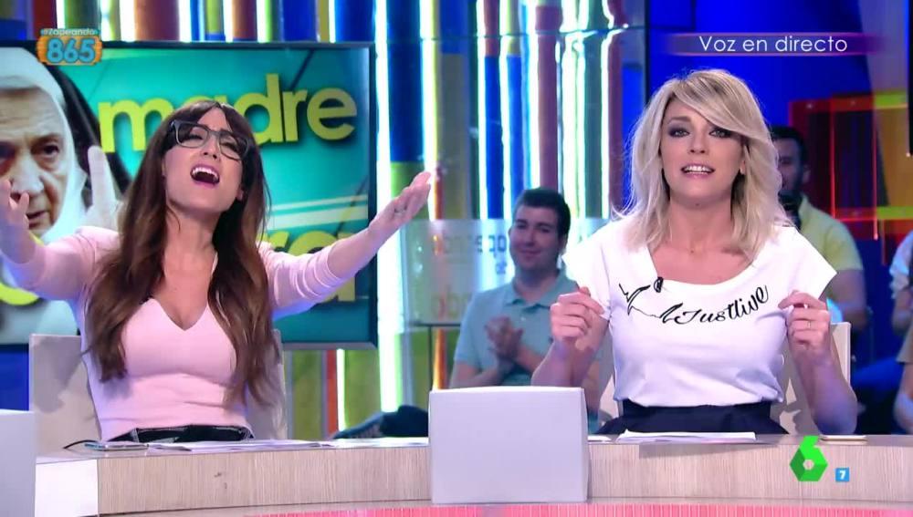 Ana Morgade y Anna Simon, en Zapeando