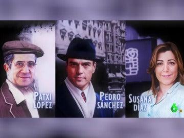 Patxi, Pedro y Susana