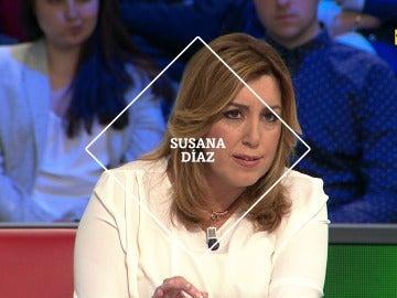 Susana Díaz en laSexta Noche
