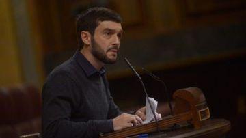 Pablo Bustinduy en el Congreso
