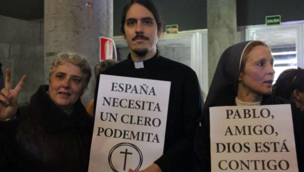 Cleroflautas votantes de Podemos, intervención