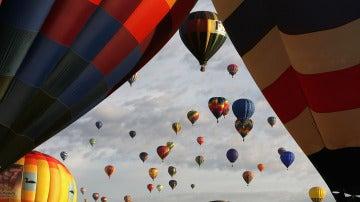 Un festival de globos aerostáticos