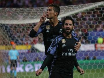 Cristiano Ronaldo manda a callar al Vicente Calderón