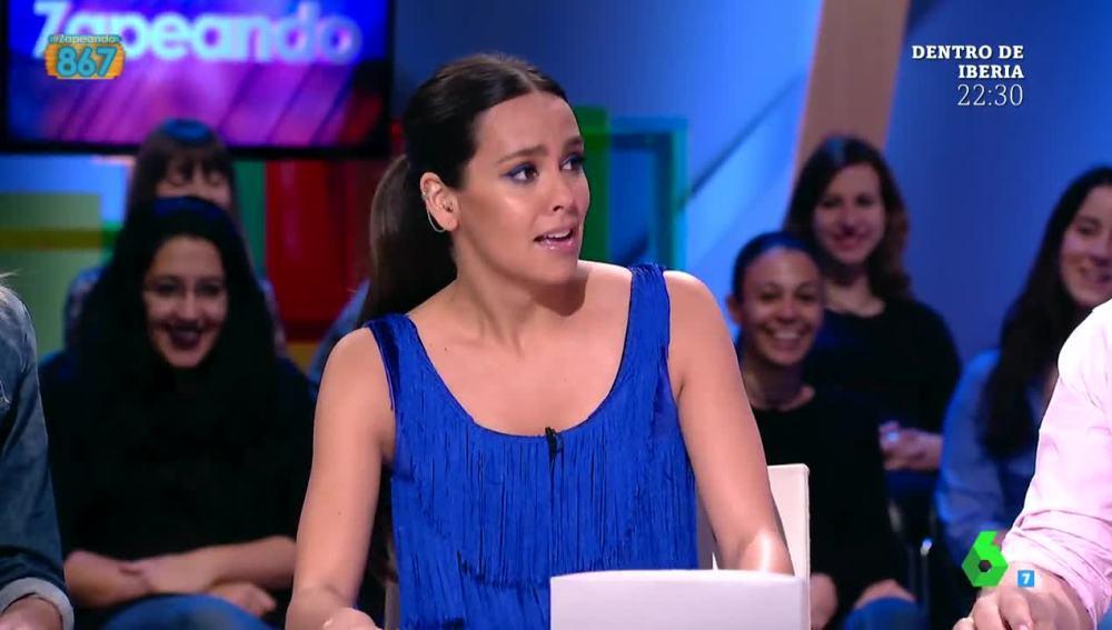 Cristina Pedroche arranca Zapeando entre lágrimas