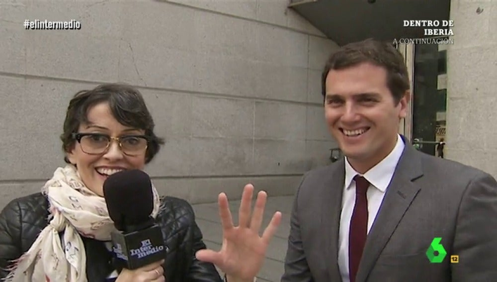Albert Rivera con Thais Villas