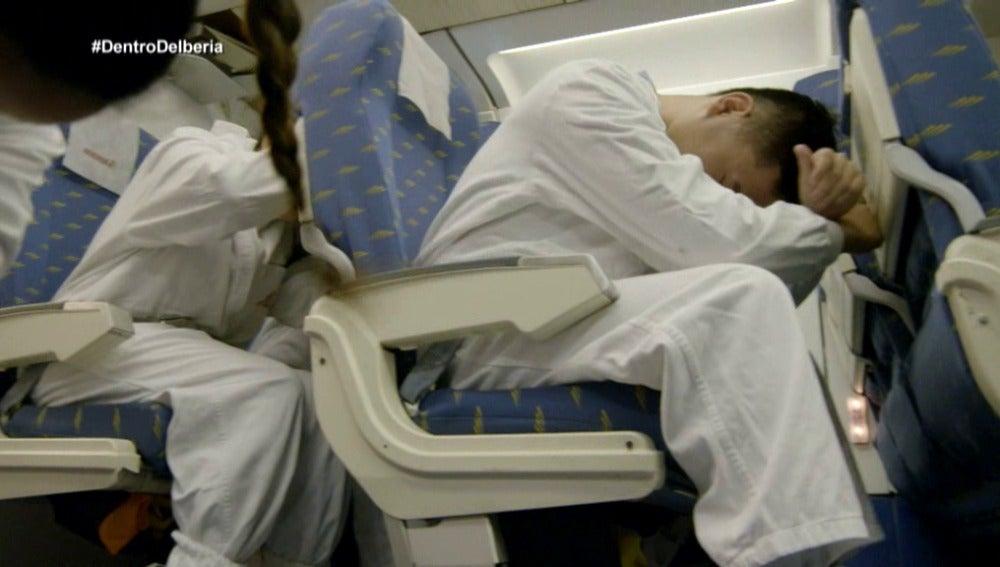 Tripulantes de cabina de Iberia