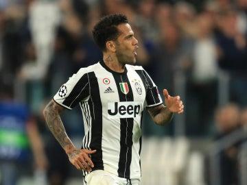 Dani Alves, con la Juventus