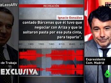 Ignacio González y Eduardo Zaplana