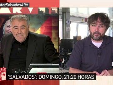 Antonio García Ferreras y Jordi Évole en ARV
