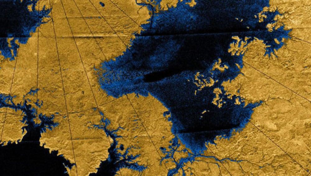Los rios de Titan Marte y la Tierra cuentan historias diferentes