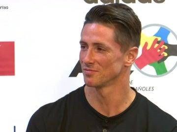 Fernando Torres, jugador del Atlético de Madrid