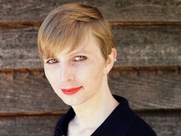Primera fotografía de Chelsea Manning