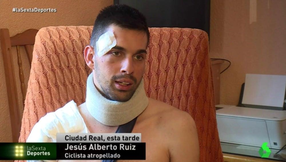 Jesús Alberto, el ciclista atropellado en Ciudad Real