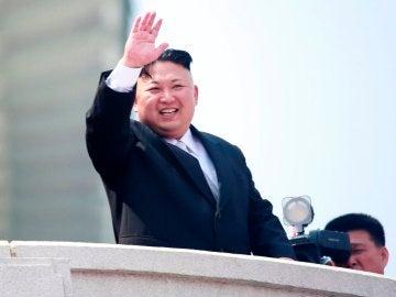 El líder de Corea del Norte, Kim Jong-un, en una imagen de archivo