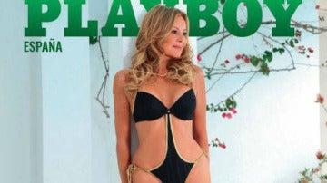 Ana García Obregón, portada de la revista Playboy