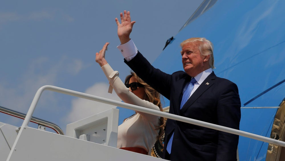 Trump parte de Washington