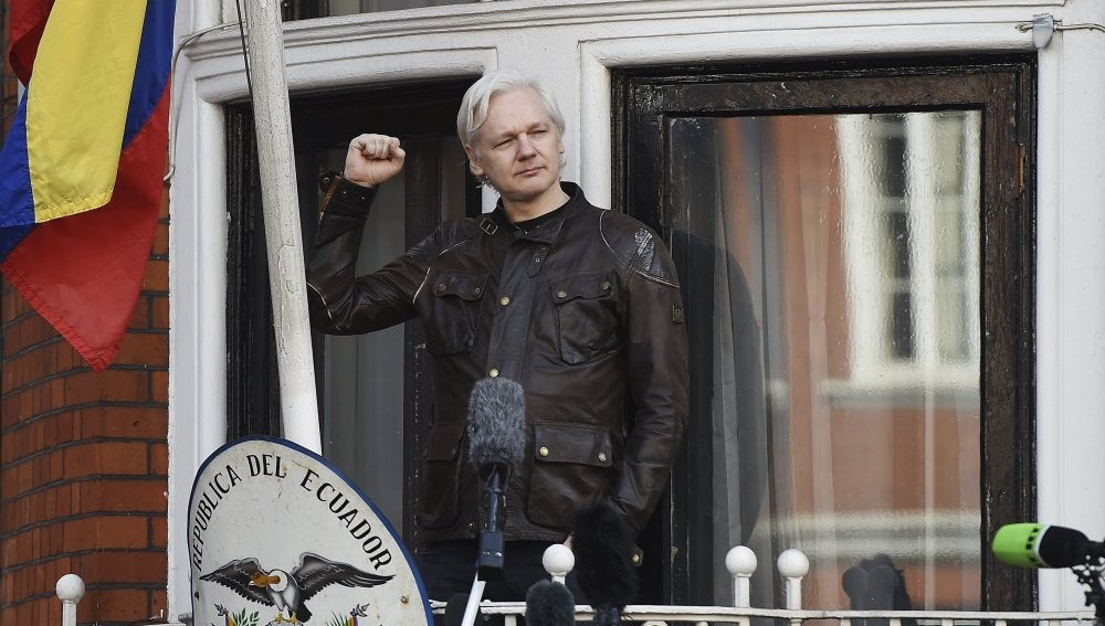 El fundador de Wikileaks, Julian Assange, en una imagen de archivo