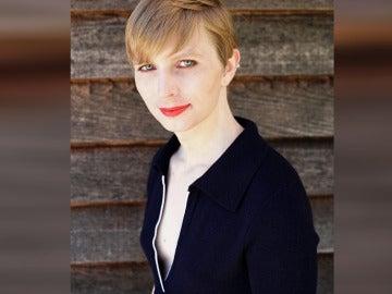 Fotografía de la exsoldado estadounidense Chelsea Manning