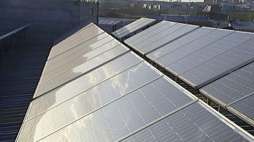 Imagen de placas solares para autoconsumo eléctrico