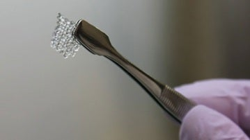 Ovario impreso en 3D