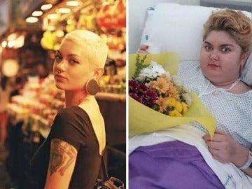 Ana antes y después de la enfermedad