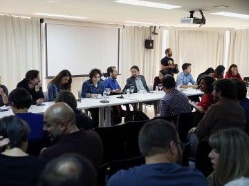 Reunión del Consejo Ciudadano Estatal de Podemos
