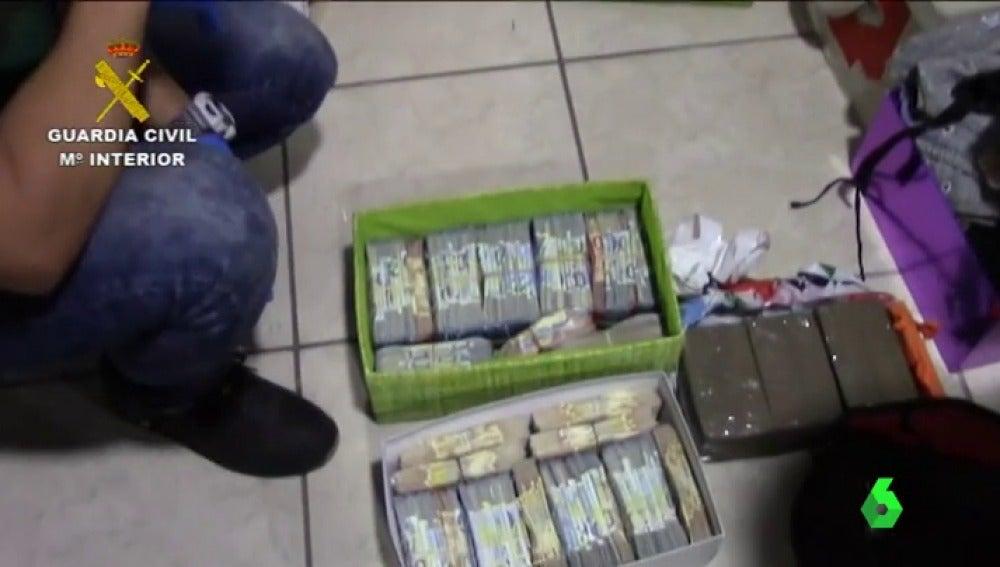 Desmanteladas en Canarias dos redes internacionales de tráfico de drogas que operaban en España