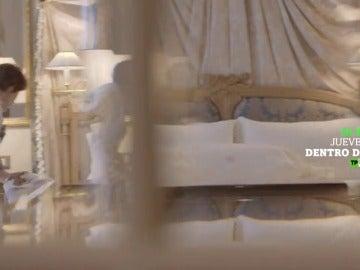 Frame 2.915505 de: Cristina Pedroche se adentra en 'The Westin Palace', este jueves en Dentro De