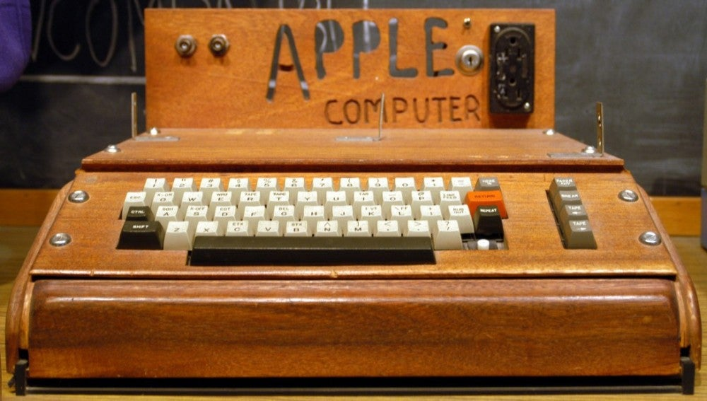 Un ejemplar Apple I