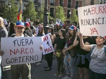 Opositores al régimen de Maduro exigen el fin de la represión en Venezuela
