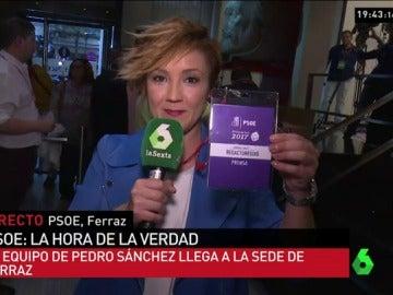 Cristina Pardo, en Ferraz