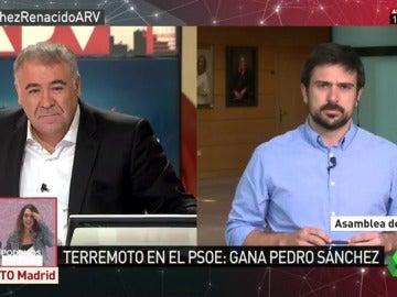 Ramón Espinar en Al Rojo Vivo