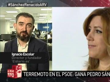 Ignacio Escolar en Al Rojo Vivo