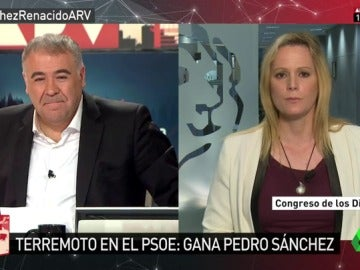 Zaida Cantera en Al Rojo Vivo