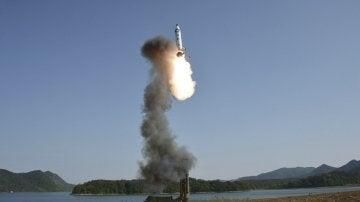 Lanzamiento de un misil (22-05-2017)