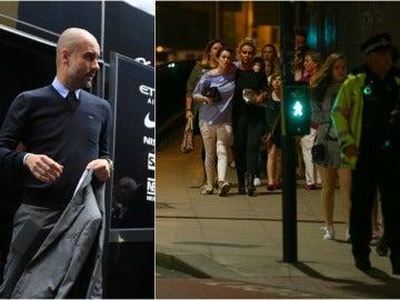 La mujer e hijas de Guardiola salen ilesas del atentado de Manchester
